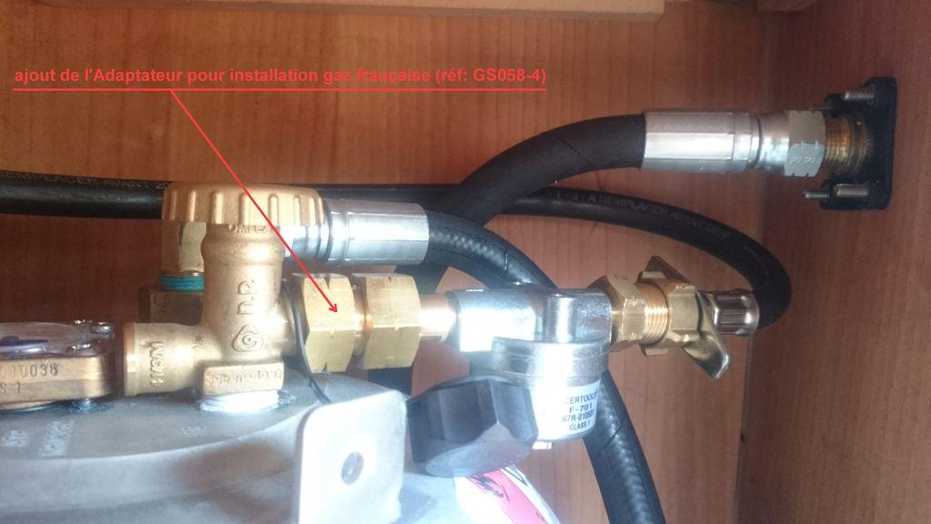 raccord propane