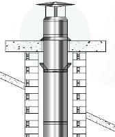 ventouse chaudière gaz condensation